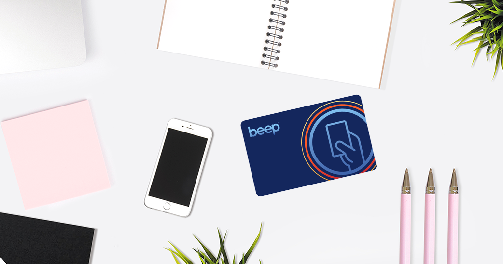 Beep Card in table